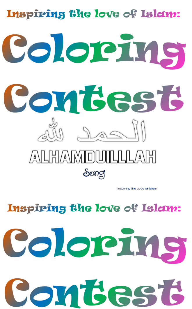Coloring Contest for KIDS! Get Featured on our BLOG ...